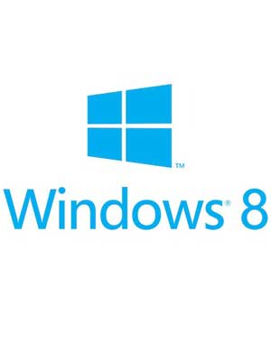 logo de windows 8 con fondo blanco
