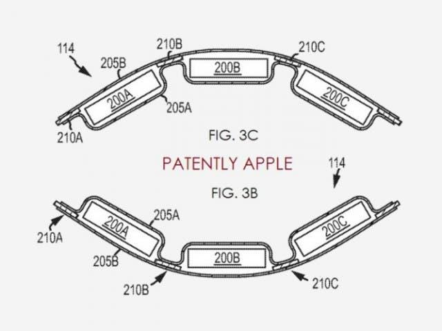 Se patenta la bater a flexible para el iwatch de apple for Especificaciones iwatch