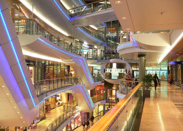 Imagen de un centro comercial