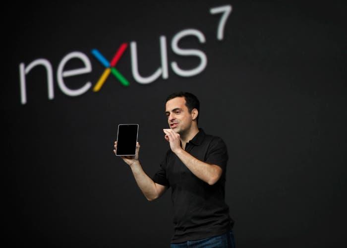Presentación de Google Nexus 7