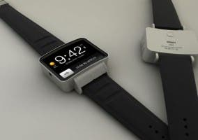 Render del posible iWatch