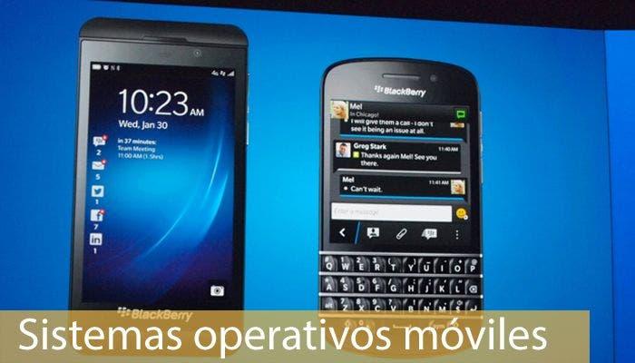 Sistemas operativos móviles: BlackBerry 10