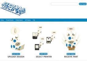 CowFab, web de impresión 3D
