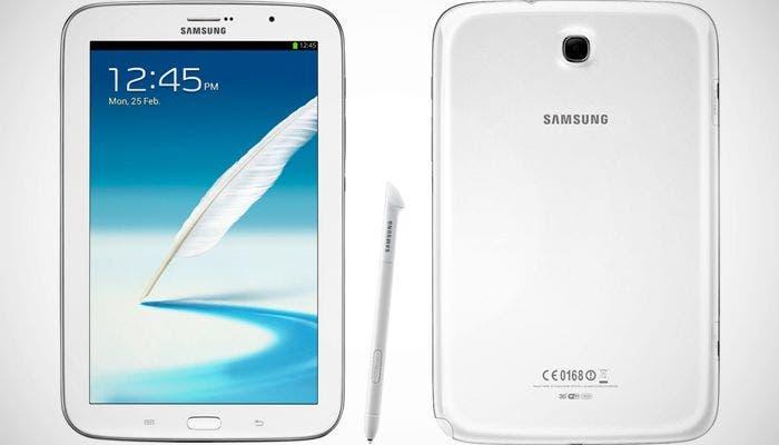 Imagen de la tablet Samsung Galaxy Note 8