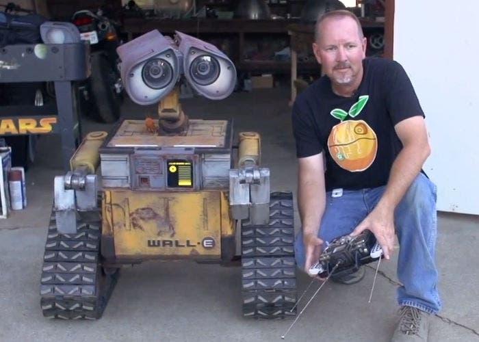 Réplica de Wall-E.