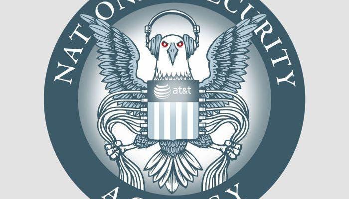 Logo paródico de la NSA