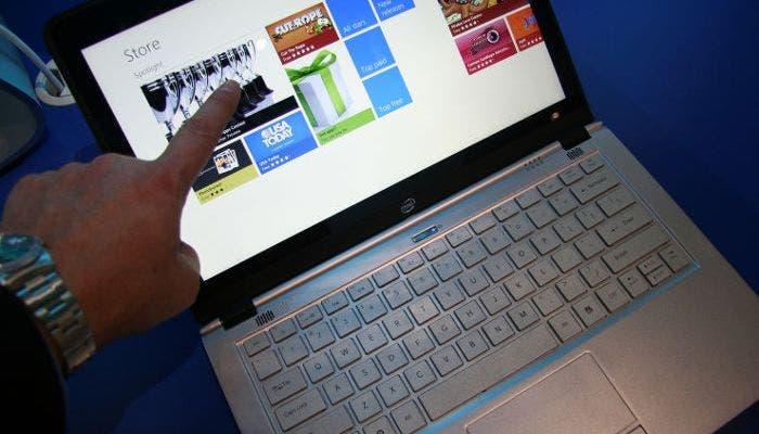 Windows 8 en una tienda