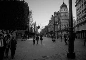 Calle en Sevilla junto a la catedral