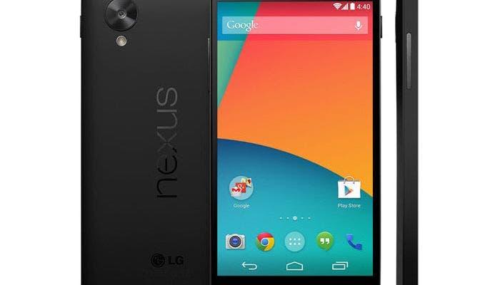Imagen del teléfono móvil Google Nexus 5