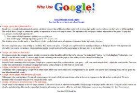 Razones para usar Google