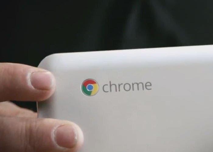 Logo de un Chromebook