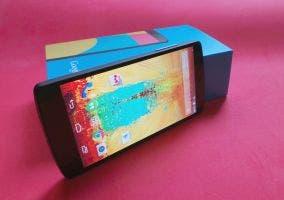 Imagen de un Google Nexus 5