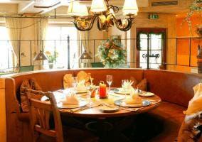 Fotografía de un restaurante