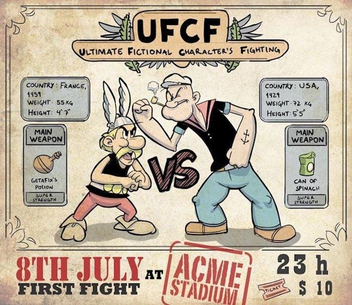 Asterix vs Popeye