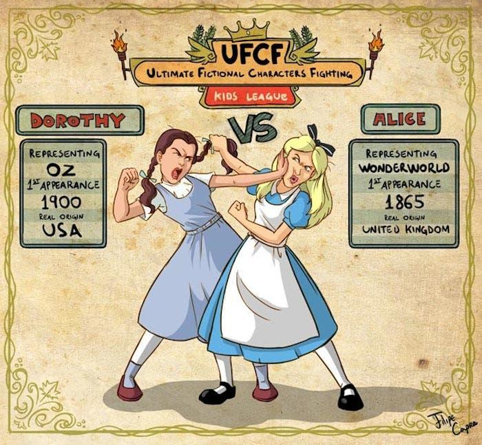 Dorothy vs Alice