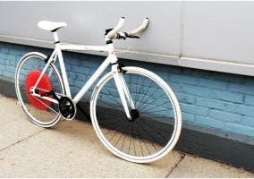 """Bicicleta con la rueda """"inteligente"""" incorporada"""