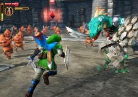 Imagen del juego Hyrule Warriors de Nintendo