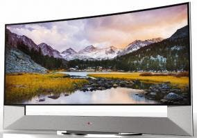 LG 105UB9, televisión 4K curvada de 105 pulgadas y en formato 21:9