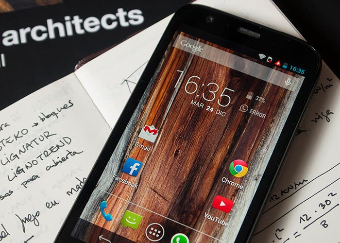 Análisis Motorola Moto G