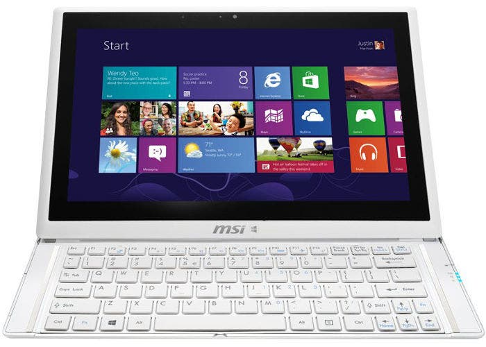 Imagen del tablet MSI S20 Slider 2