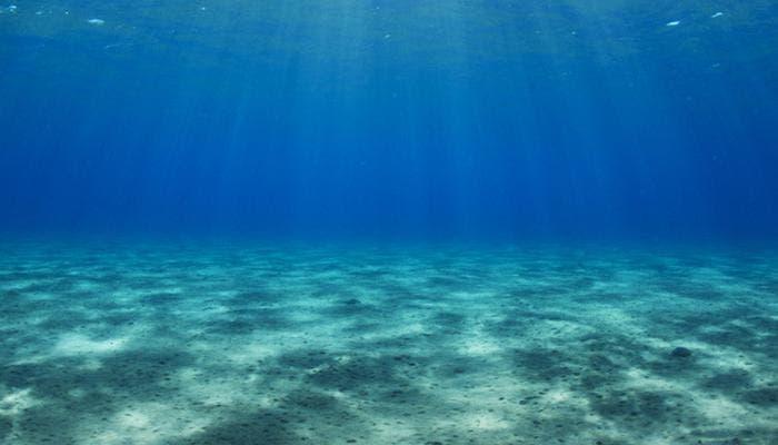 Reservas de agua debajo del fondo marino