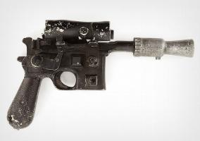 Pistola blaster de Han Solo en Star Wars