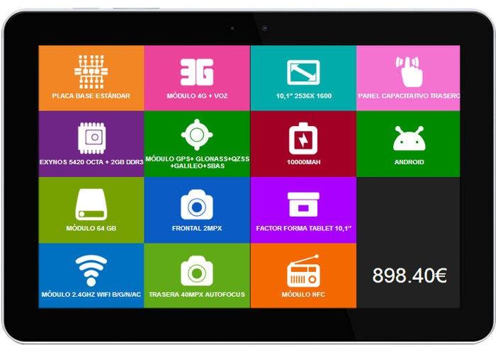 Tablet modular imasD Click ARM