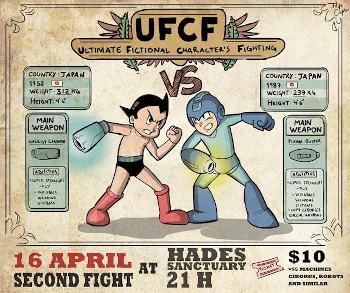 Astro Boy vs Mega Man