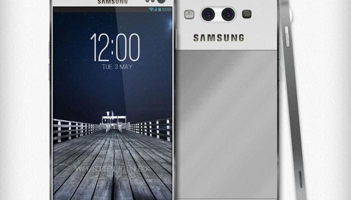 Posible aspecto del Samsung Galaxy S5