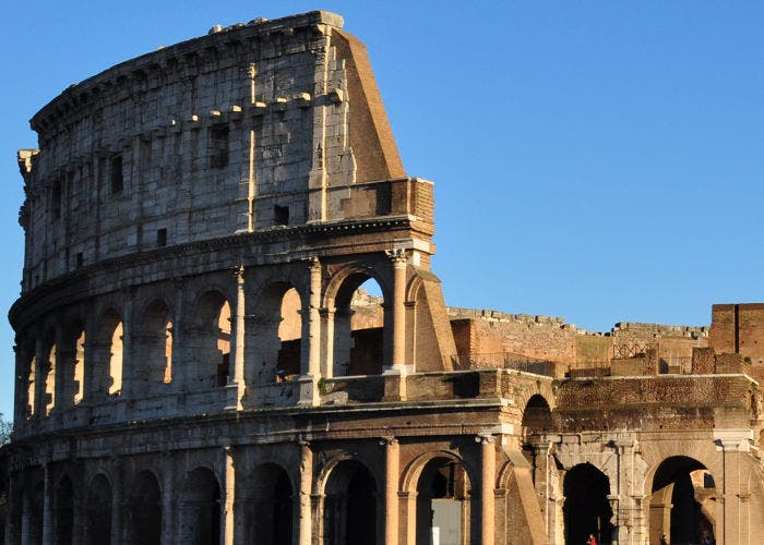 Imagen del Coliseo de Roma
