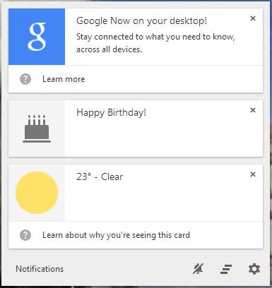 google now pc