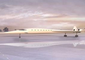 Recreación del avión HyperMach SonicStar