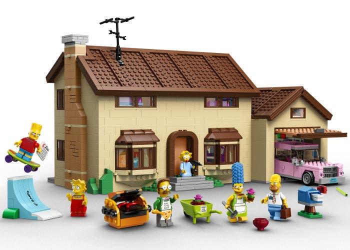 LEGO de Los Simpson
