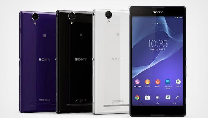 Imagen del smartphone Sony Xperia T2 Ultra