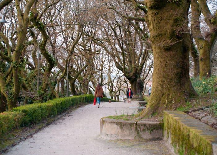 Fotografía original Parque de Galicia