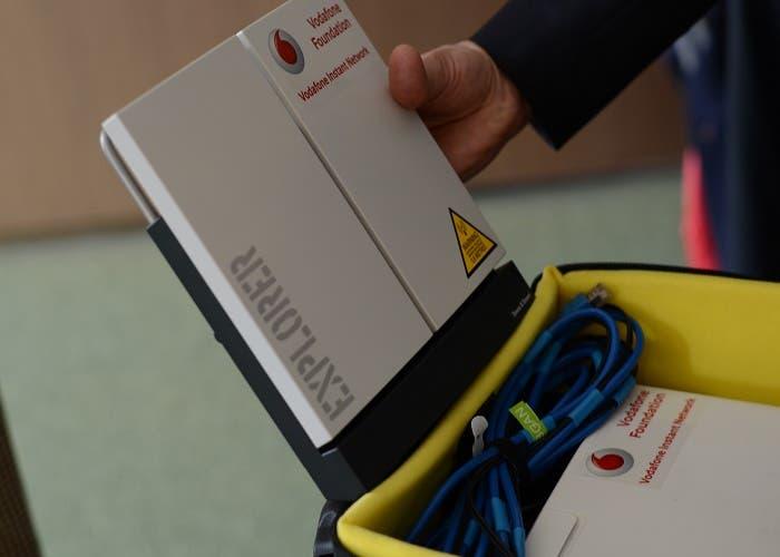 Mochila Vodafone 2 MWC2014