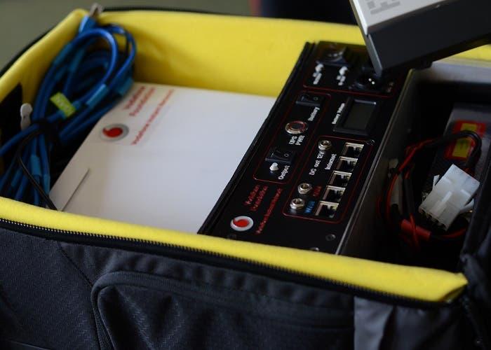 Mochila Vodafone MWC2014