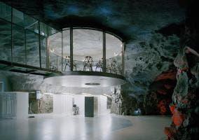 Oficina a 200 metros bajo tierra de Estocolmo