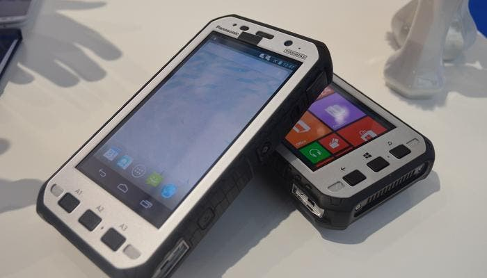 Panasonic TOUGHPAD con Android y Windows