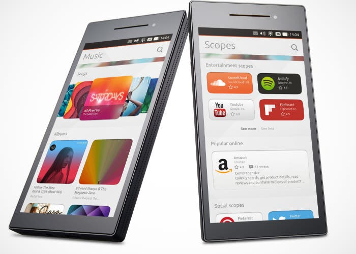 Ubuntu en móviles