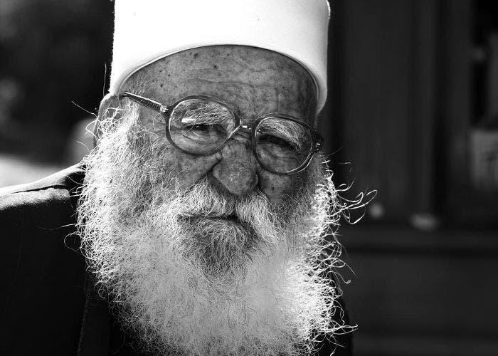 Imagen de un anciano