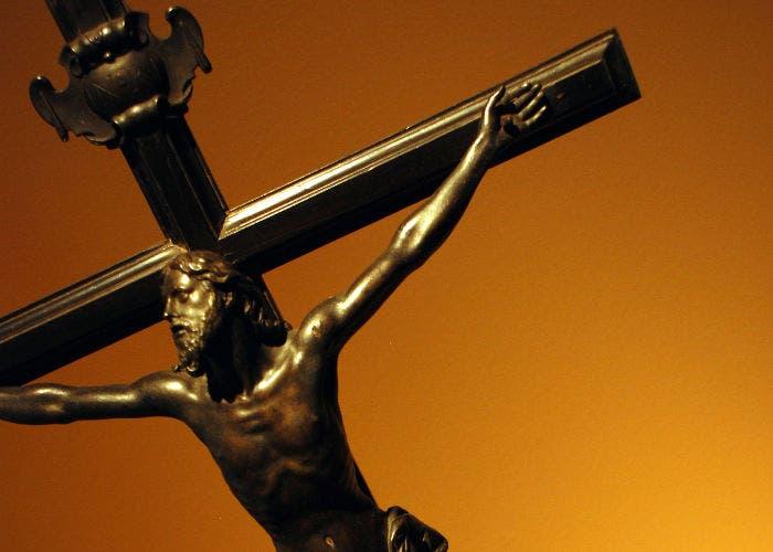 Fotografía de una cruz