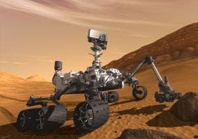 Curiosity Rover en Marte