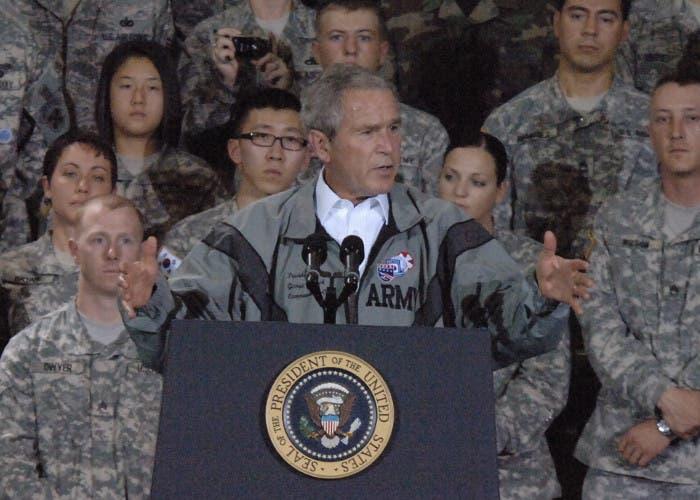 George W. Bush, expresidente de los Estados Unidos