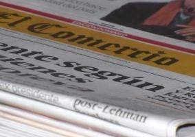 Imagen de varios periódicos