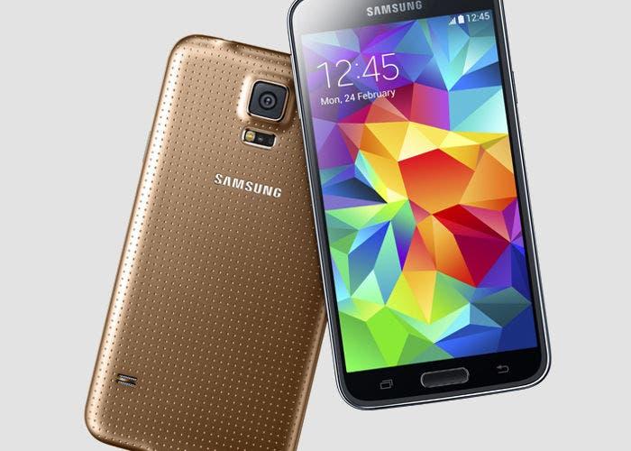 Imagen del smartphone Samsung Galaxy S5