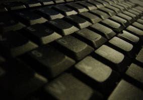 Fotografía de un teclado
