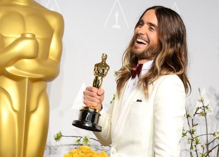 Jared Leto en la Gala de los Oscars 2014