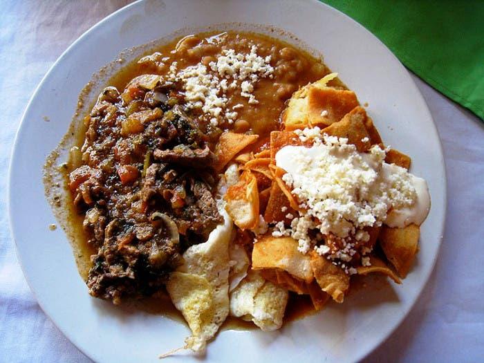 Típico Desayuno Mejicano
