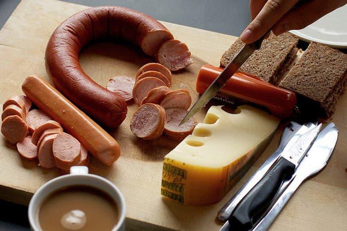 Típico Desayuno alemán